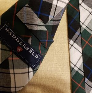 Glenwood Plaid, Mens tie